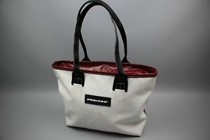 FREITAG Tasche F72 Dona Womens White/Red Shopper Hand Bag Handtasche