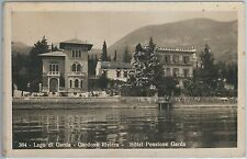 54767 -- CARTOLINA d'Epoca - LAGO di GARDA: Gardone Riviera HOTEL PENSIONE GARDA