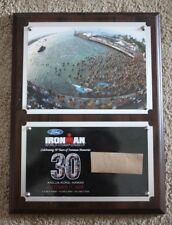 "2008 Ironman Hawaii World Championship Triathlon 12""X9"" Award Director Plaque"
