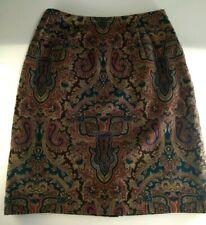 J.G. Hook Velour 100% Cotton Plush Velvet Mini Skirt Lined Size 6 NWOT