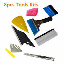Car Window Tinting Pre Cut Tint Film Installation Wrapping Applicator Tool &