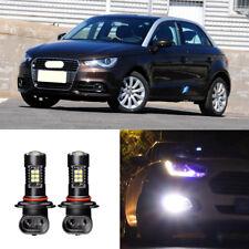 2x Canbus H11 3030 21SMD LED DRL Daytime Running Fog Light Bulbs For Audi A1 12+