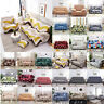 1/2/4 Seater Elastic Sofa Covers Slipcover Settee Stretch Floral Couch Protector