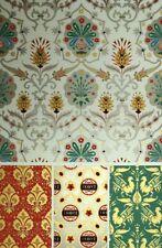 Style Moyen Age Décoration Tapisserie Lys Ornement Lithographie XIXème