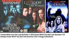 I KNOW WHAT YOU DID LAST SUMMER TRILOGY DVD ALL 3 MOVIE FILM STILL I'LL ALWAYS