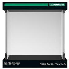 Dennerle Nano Cube 30 Liter mit Abdeckscheibe, Rückwandfolie und Unterlage