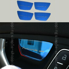 4x Blue Stainless Interior Door Handle Bowl Cover Trim For Ford Focus 2011-2016