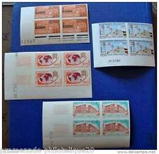 MADAGASCAR timbre-stamp Yvert et Tellier n°376 à 379 non dentelés-Bloc de 4-n**