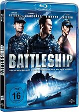 BATTLESHIP (Taylor Kitsch, Liam Neeson, Rihanna) Blu-ray Disc NEU+OVP
