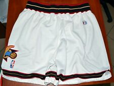 NBA PHILADELPHIA SIXERS BASKETBALL SHORTS JERSEY CHAMPION SIZE XL ADULT