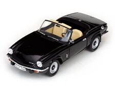 1:18 Sun Star Black 1970 Triumph Spitfire MK IV Sunstar  item 1046