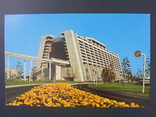 Disney World Monorail Train Florida Color Chrome Postcard 1960s