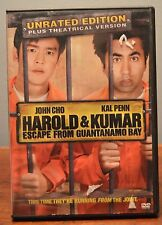 Harold & Kumar Escape from Guantanamo Bay DVD John Cho, Kal Penn