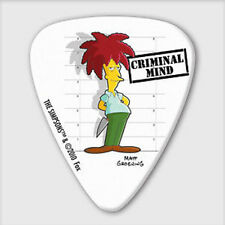 5 x Grover Allman The Simpsons Sideshow Bob Guitar Picks *NEW* Plectrums, 0.8mm