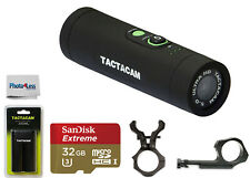 Tactacam 5.0 Action Camera Includes 2 Mounts,+ Free extra Battery and 32Gb Card
