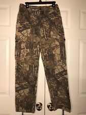 VTG Realtree LIBERTY Cargo Ripstop Pants MENS 32-34 x 30 Hunting Field Turkey