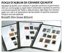ALBUM FRANCIA BOLAFFI GBE MILORD OCCASIONE 1969  / 1978 SIGILLATI FOGLI GIALLI