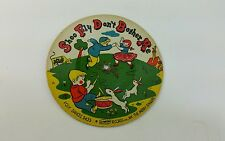 Vintage Pictur tone Records Cardboard Picture Record Shoo Fly Mexican Hat Dance