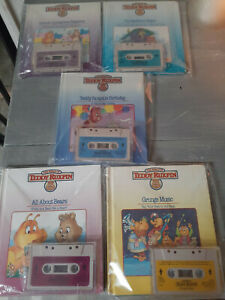 Choose any 5 Teddy Ruxpin Cassette tapes with matching books. Worlds Of Wonder