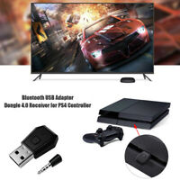 Bluetooth Wireless USB Dongle Receiver Adapter for PS4 Playstation 4 Headset