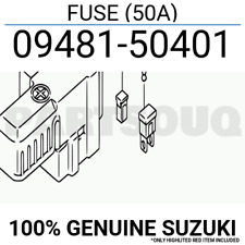 0948150401 Genuine Suzuki FUSE (50A) 09481-50401