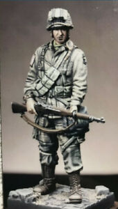 1:32 WWII American Airborne High Quality Resin Kit 1 Figures