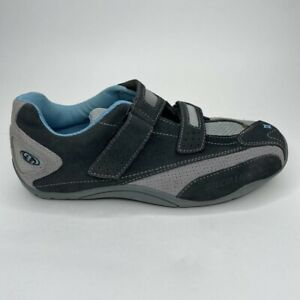 Specialized Womens BG Sonoma Cycling Shoes Gray Black 6127-1340 Hook And Loop 9M
