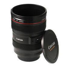 Camera Caniam Lens As Canon EF 24-105mm Cup Thermos Travel Coffee Mug Stainless