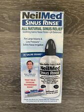 NeilMed Soothing Saline Sinus Nasal Rinse Starter Kit pH Balanced Irrigation NEW