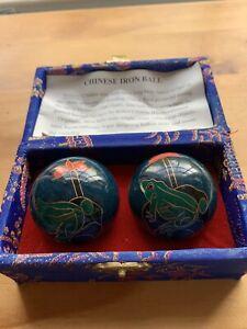 Boxed Chiming Boading Iron Balls - Chinese Stress Balls