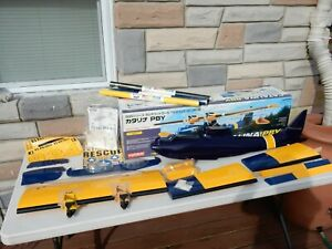 Kyosho Kit 11730 CATALINA PBY Seaplane 1740mm Flying Boat Project - Not Complete