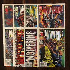 Marvel WOLVERINE (Vol 1 1995 1996) 91 93 94 95 96 97 98 99 VF/NM (8 comics)