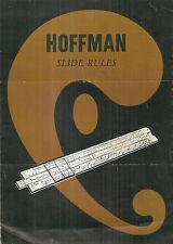 Hoffman Slide Rules Catalog