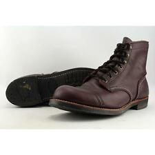solid red wing shoes for men for sale ebay