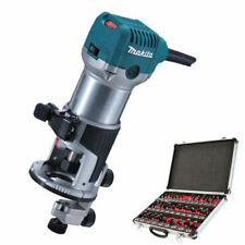"Makita RT0700CX4 Router / Laminate Trimmer 240V with 1/4"" 35 Piece Cutter Set"