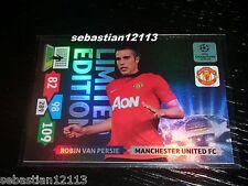 Champions League 2013/2014 Adrenalyn XL Robin Van Persie Limited Edition