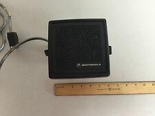 Motorola NSN6054A USED W/ Mounting Bracket 12W Audio PA External Speaker
