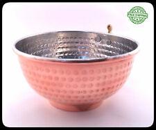 Copper Shaving Bowl Mug Cup for Shaving Brush and Safety Razor, For Egg Nog