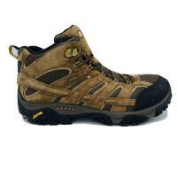Merrell Men's Sz 14W Hiking Boots Earth Brown J06051W Waterproof