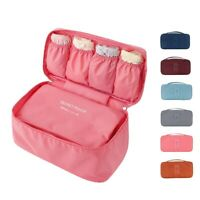 Travel Portable Luggage Clothes Underwear Socks Pack Cube Storage Organizer Bag.