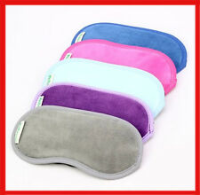 Travel Soft Sleep Mask Eye Cover Rest Patch Blindfold Shield TA008
