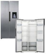 PKM Side by Side Kühlschrank Kühl- Gefrierkombi Wasserspender 476L Kombi INOX