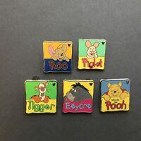 Hidden Mickey Series - Winnie the Pooh and Friends - 5 Pins Disney Pin 88603