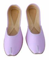 Women Shoes Indian Jutties Handmade Traditional Mojari Loafers Pink UK 9.5 EU 44