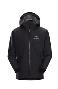 New Arcteryx Beta LT Gore-Tex Pro Jacket Medium Waterproof Shell 3 Layer Black
