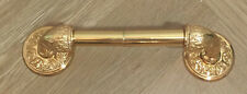 Used Toilet Tissue Holder Brass Polished Gold Phylrich -Beautiful!