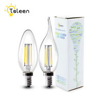 E12 E14 LED Lights Filament Bulbs Retro Edison Candle Lamp 110V/220V 4W 8W