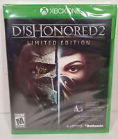 Dishonored 2 Limited Edition (Microsoft Xbox One) Brand New