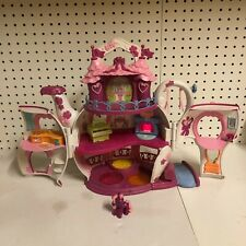 My Little Pony G3 Ponyville Teapot Palace Tea Cup Parade Tea Set TESTED WORKS