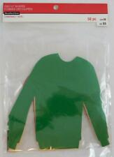 Recollections Holiday Diecut Shapes Shirt Sweater New 25 Pc Christmas